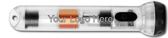 Place your corporate logo on our everlight flashlight