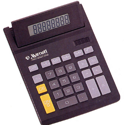 Advertising Specialty Calculator in Black