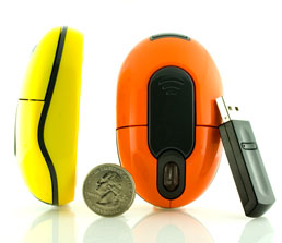 JDP Role promotional wireless optical mouse